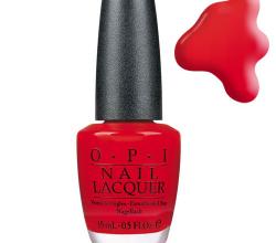 "Лак для ногтей ""OPI Red"" (NLL72) от OPI"