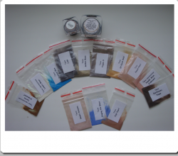 Минеральные тени для век (5 оттенков) от Sweetscents