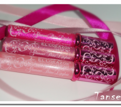 Блеск для губ Glamour Shine Lipgloss в новом дизайне (оттенки SH 505, SH 53, SH 15) от EL Corazon