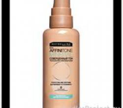 Тональный крем для сухой кожи Affinitone mineral от Maybelline