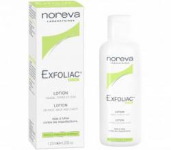Лосьон для лица Laboratories Exfoliac с высокой концентрацией AHA и BHA от NOREVA LED