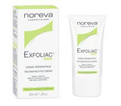Восстанавливающий крем для лица Exfoliac Reconstructive Cream от NOREVA LED