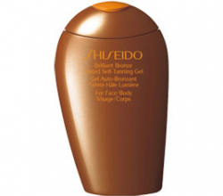 Оттеночный автозагар с шиммером «Brilliant Bronze Tinted Self-Tanning Gel» от Shiseido