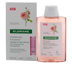 Шампунь успокаивающий с экстрактом пиона для раздраженной кожи головы от Klorane