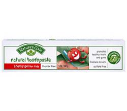 Натуральная гелевая зубная паста без фтора «Вишня» от Nature's Gate