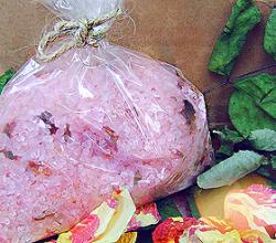 Соль для ванны «Розовое настроение» от Мыловаров