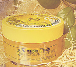 Скраб для тела «Sweet Lemon Body Scrub» от The Body Shop