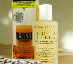 Эксфолиант для лица Leave-On Invisible Exfoliant & Blemish Remedy от Ecco Bella