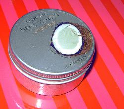 Крем для рук с ароматом кокоса от Greenland