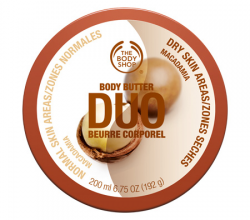Масло для тела «Body Butter Duo Macadamia» от The Body Shop