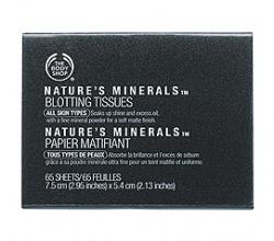 Матирующие салфетки «Nature's Minerals» от The Body Shop