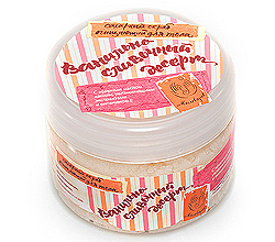 Сахарный скраб для тела «Ванильно-сливочный десерт» от Мыловаров