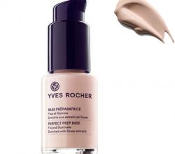 Восстанавливающая основа с экстрактом роз от Yves Rocher