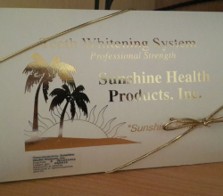 Набор для отбеливания зубов Teeth Whitening System Sunshine smiles Premium от Sunshine Health Products