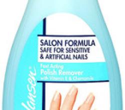 Жидкость для снятия лака для искусственных и чувствительных ногтей от Sally Hansen