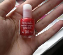 """Лак для ногтей Люминель (оттенок """"Сверкающий красный"""") от Yves Rocher"""