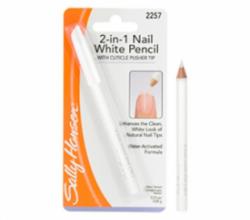 Отбеливающий карандаш для ногтей 2-in-1 Nail White Pencil от Sally Hansen