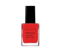 """Лак для ногтей """"Эксперт цвета"""" (Сияющий) Ruby Slippers (Красная гвоздика) от Avon"""