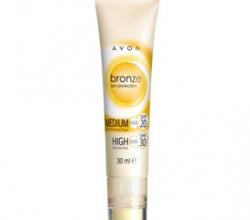 Солнцезащитный комплекс для лица  SUN+: Матирующий крем SPF20 + Карандаш SPF 30 от Avon