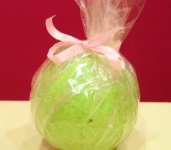 "Бурлящий шарик для ванн ""Мята"" от Design Soap"