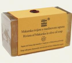 Мыло на основе оливкового масла, ромашки и миндаля MAKARSKA RIVIJERA от Brac