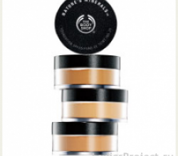 Минеральная пудра Nature's Minerals Foundation от The Body Shop