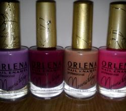 Лак для ногтей от ORLENA