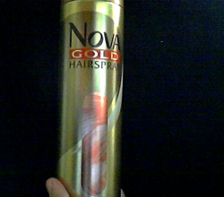 Лак для волос с протеинами шелка от Nova Gold