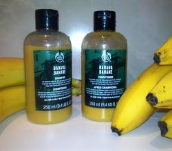 Банановый шампунь и Банановый кондиционер от The Body Shop
