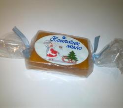 Мыло глицериновое «Новогоднее» от Caramel