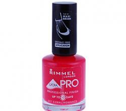 Лак для ногтей Lycra PRO # 317 (Coral romance) от Rimmel