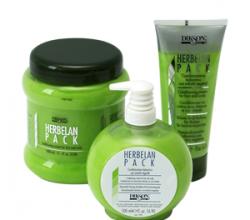 Растительный бальзам для волос с ментолом, маслами ромашки и мальвы HERBELAN PACK от DIKSON