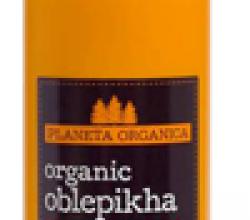 Гель для душа на органическом масле облепихи Organic oblepikha от Planeta Organica