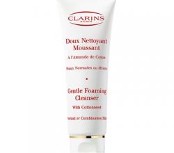 Мягкая очищающая пенка для нормальной и комбинированной кожи лица Gentle Foaming Cleanser Combination or Oily Skin от Clarins