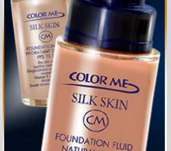 Легкая тональная основа «Silk Skin» от Сolor Me