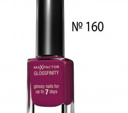 Лак для ногтей Glossfinity (оттенок № 160 Raspberry blush) от Max Factor
