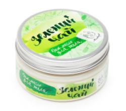 """Крем-масло для тела """"Зеленый чай"""" от Мыловаров (1)"""