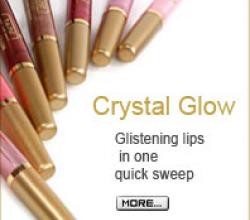 Блеск для губ Crystal Glow (оттенок № 185) от Ga-De