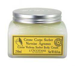 Крем-щербет для тела Вербена-Цитрус от L'Occitane