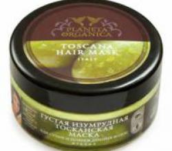 Густая изумрудная тосканская маска для сухих и поврежденных волос  от Planeta Organica
