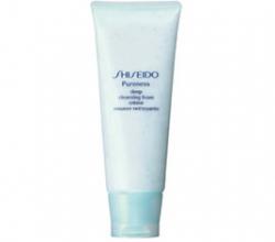 Пенка для глубокого очищения кожи Pureness Deep Cleansing Foam от Shiseido
