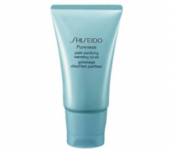 Скраб для лица с тепловым эффектом для очищения пор Pore Purifying Warming Scrub от Shiseido