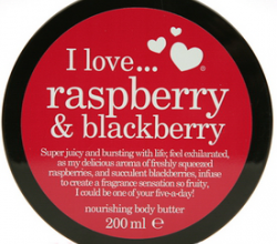 Масло для тела RASPBERRY & BLACKBERRY питательное от I Love