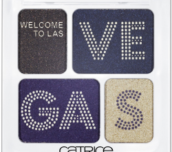 Тени для век из лимитированной коллекции Welcome to Las-Vegas (оттенок № 01 Courtian Up!) от Catrice