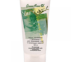 Маска каолиновая с витамином F для проблемной кожи от Green Mama