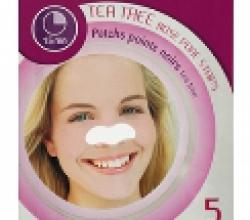 Полоски для очищения пор носа с экстрактом чайного дерева Tea Tree Nose Pore Strips от L'Action
