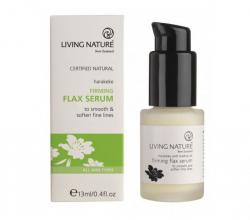 Лифтинг-сыворотка для кожи вокруг глаз Firming flax serum от Living Nature