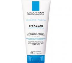 Гель очищающий пенящийся для комбинированной жирной и проблемной кожи Effaclar от La Roche-Posay