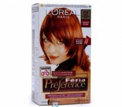 Стойкая краска для волос Preference (P78 Паприка) от L'Oreal