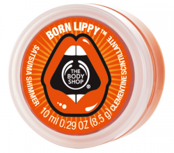 Бальзам для губ Satsuma Shimmer Born Lippy от The Body Shop